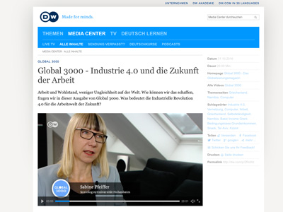 DW Global 3000 – Pfeiffer – Industrie 4.0